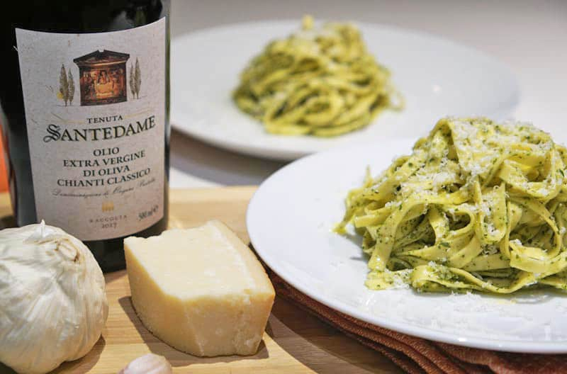 Delicious Pesto Tagliatelle Pasta Recipe