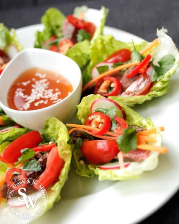 Beef Salad Bites