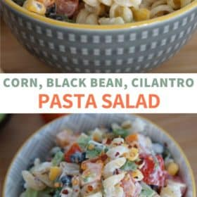 Corn & Black Bean Pasta Salad