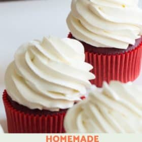 Cupcake with Cream Cheese Frosting