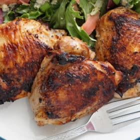 marinated chicken thighs