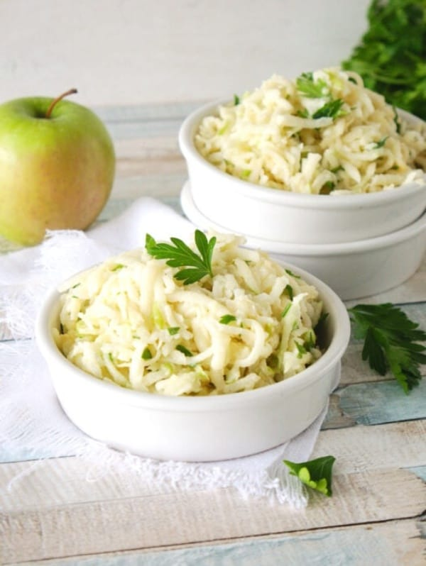 Creamy Apple Jicama Slaw