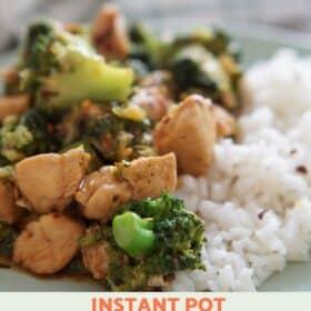 Instant Pot Chicken & Broccoli