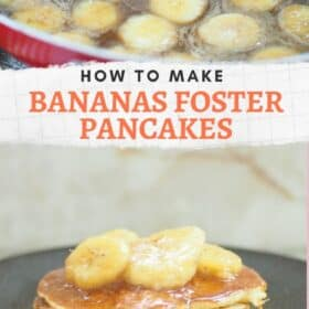 Bananas Foster Pancakes