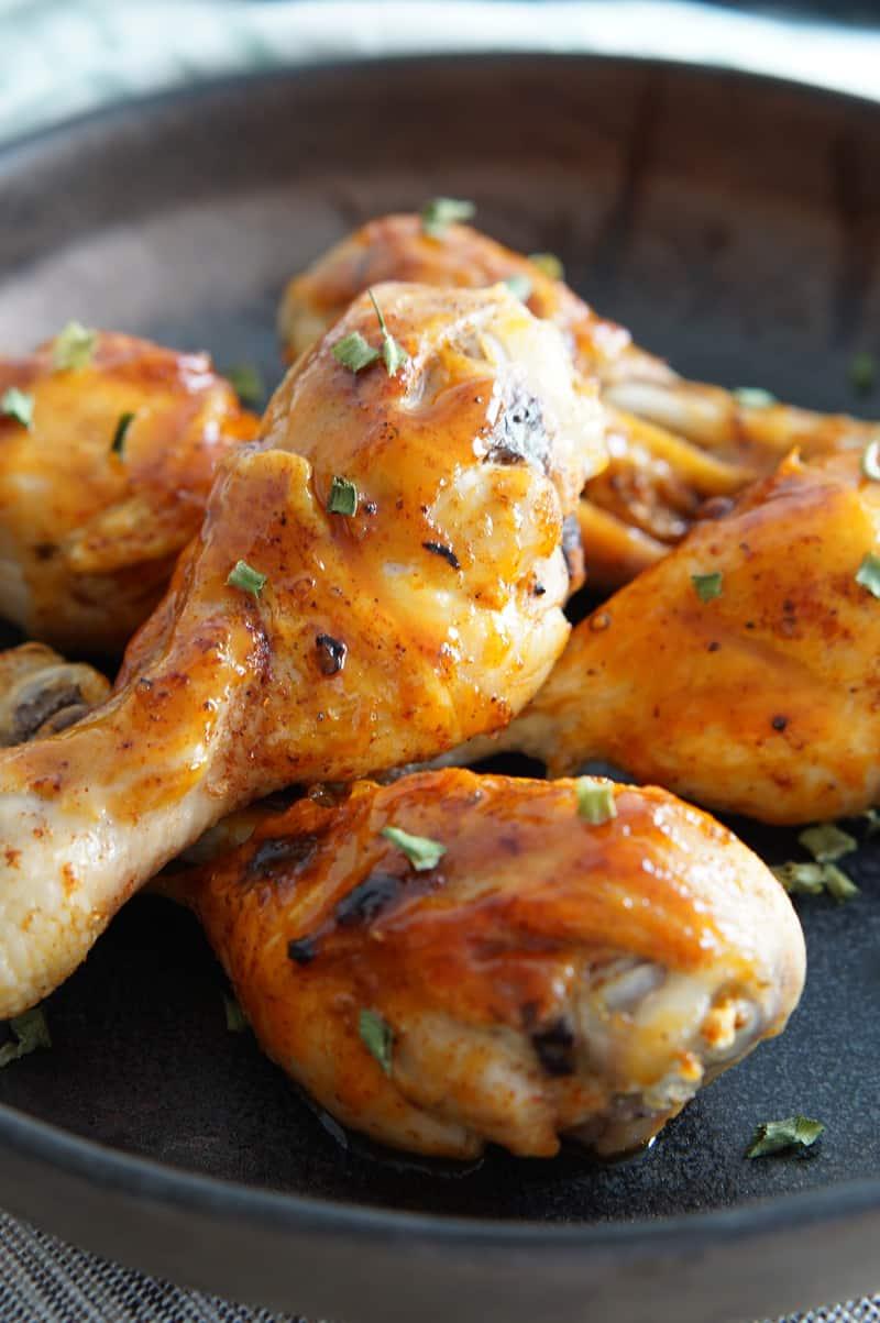 Chicken with Honey Sriracha Sauce