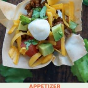 Mini Taco Appetizer
