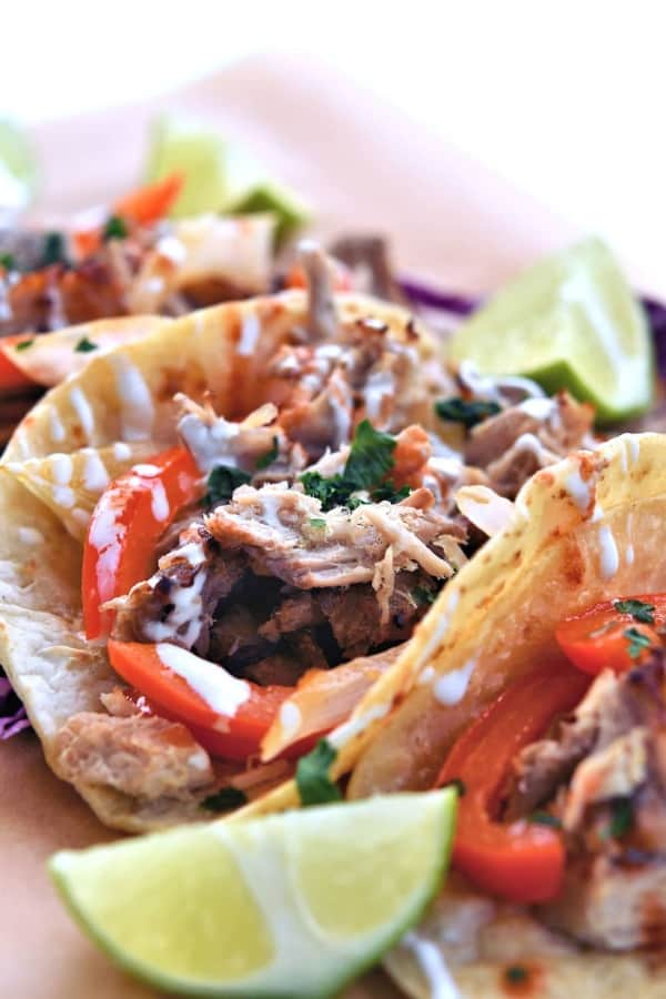 Pork Ribeye Roast Tacos