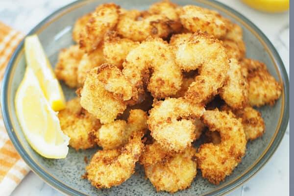 Air Fryer Breaded Shrimp