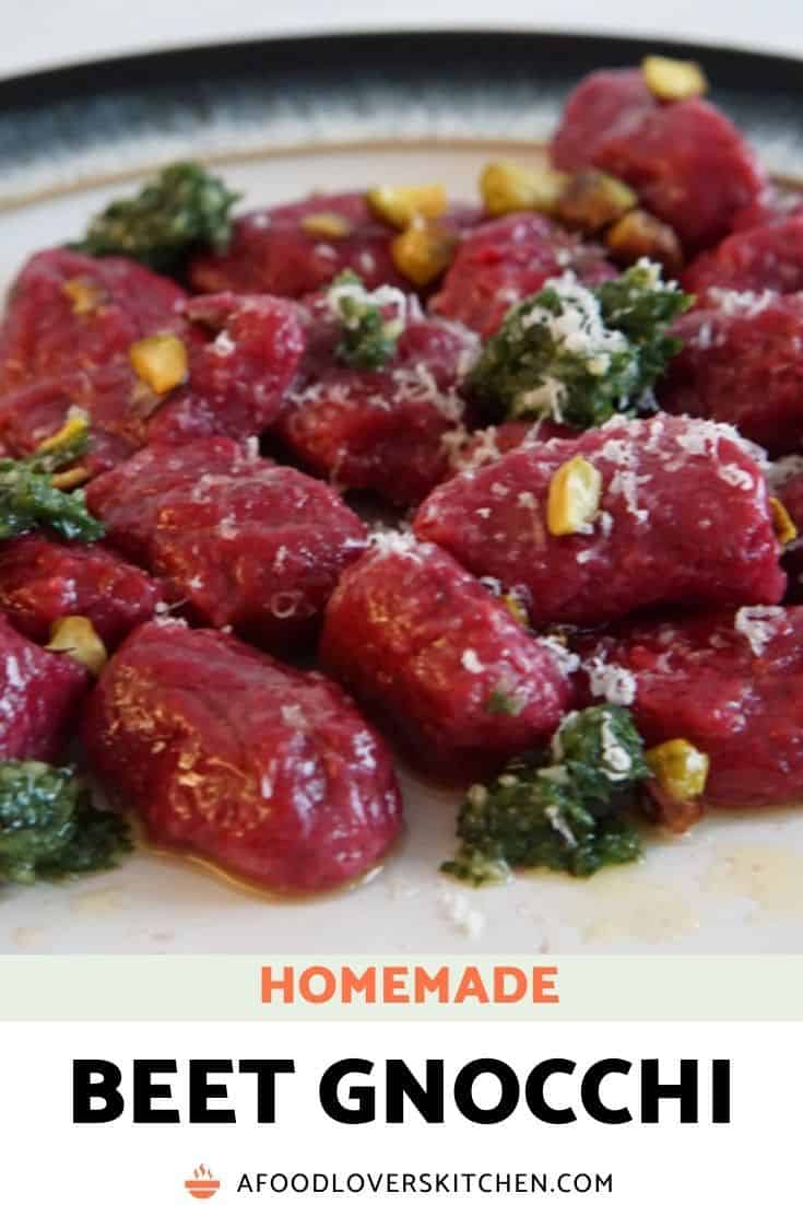 Easy Homemade Beet Gnocchi