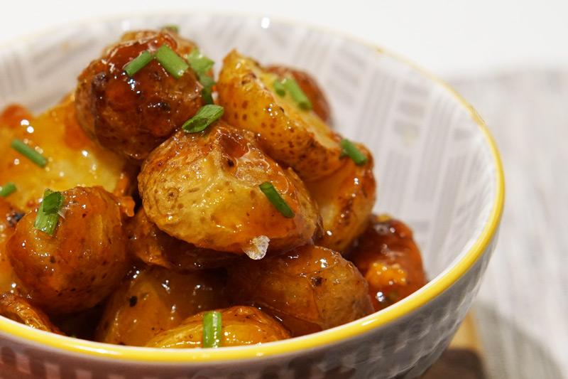 Honey Sriracha Potatoes