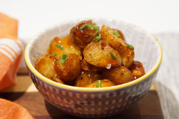Honey Sriracha Potatoes