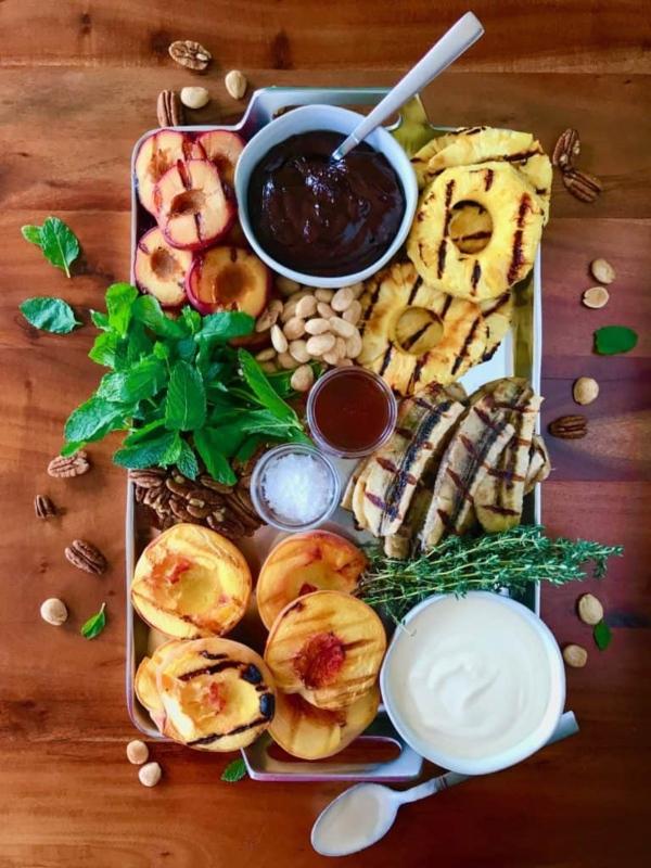 Grilled Fruit Platter