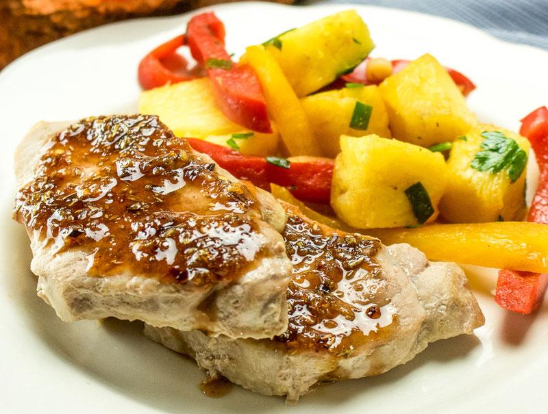 Sweet & Sour Pork Chops