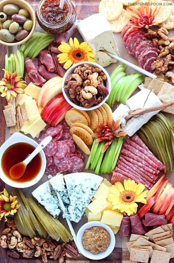 Fall Meat and Cheese Board