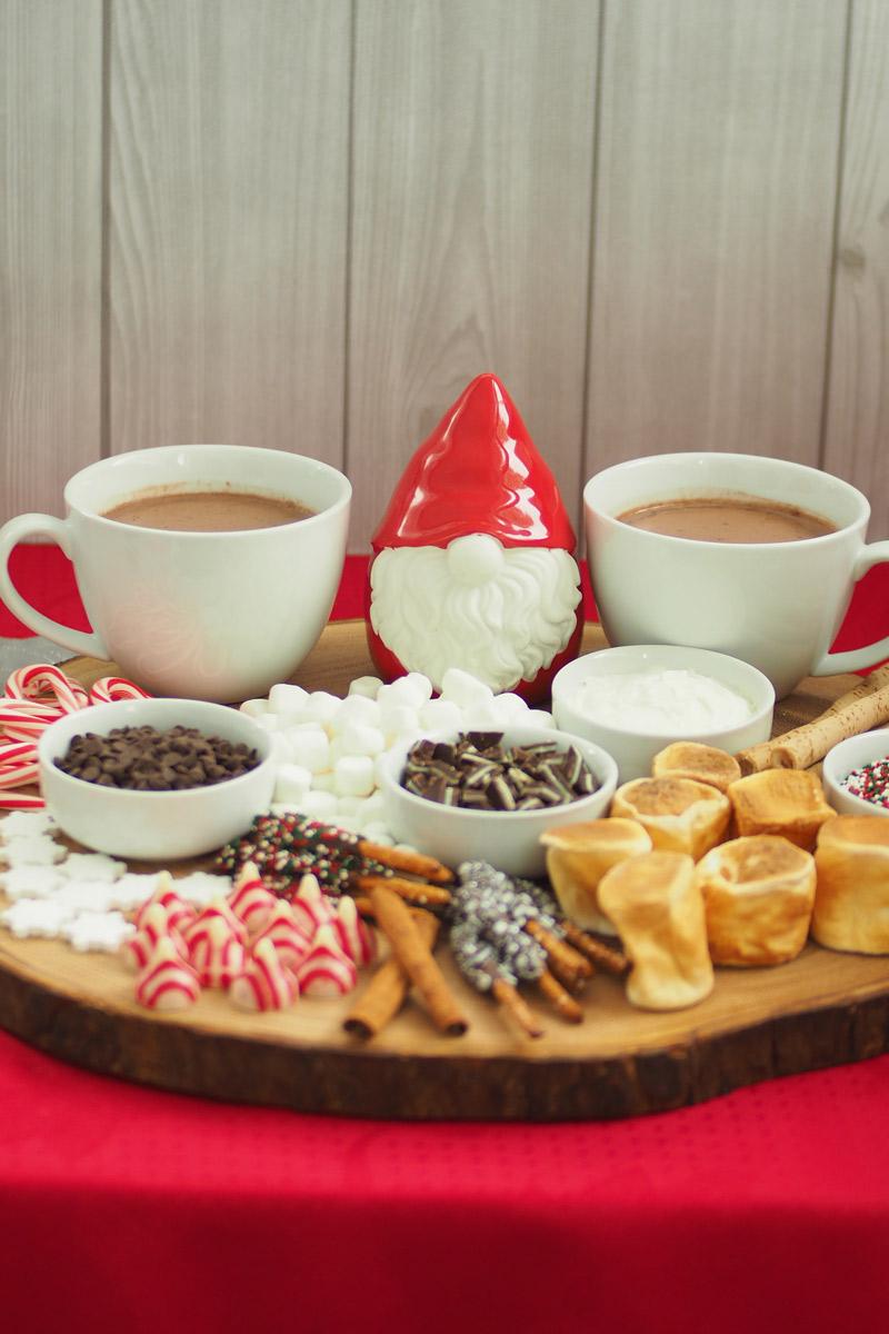 Hot Chocolate Sharing Board