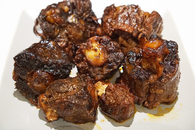Cooked Oxtail