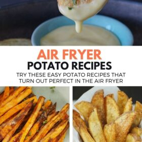 Air Fryer Potato Reicpes You'll Love