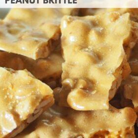 Easy Microwave Peanut Brittle