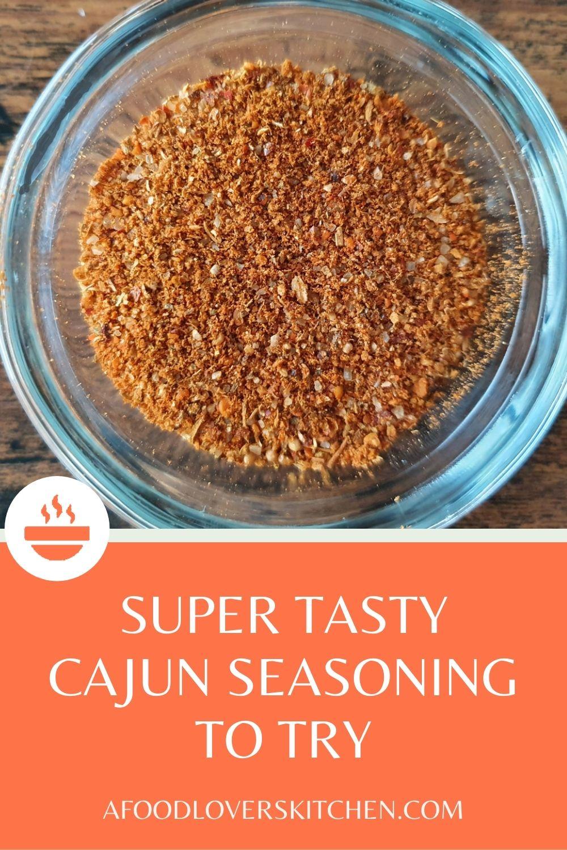Cajun Seasoning Mix
