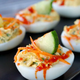 banh mi deviled eggs