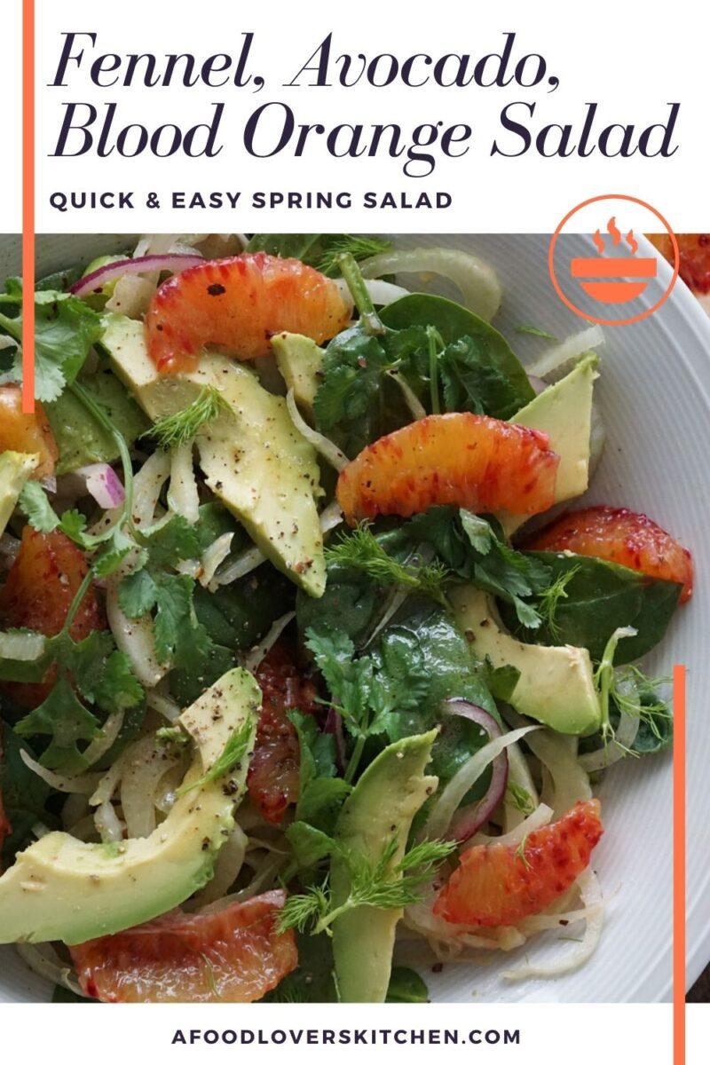 Fennel, Avocado, and Blood Orange Salad