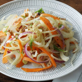 Fennel & Carrot Salad