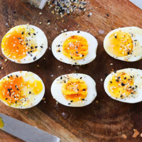 Hard and Soft Air Fryer Eggs