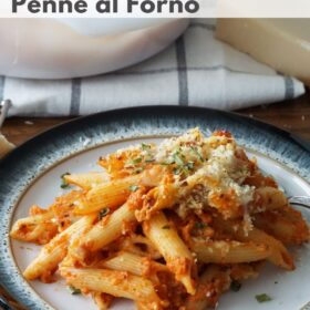 Cheese Penne al Forno