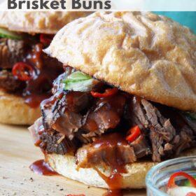 BBQ Beef Brisket Buns