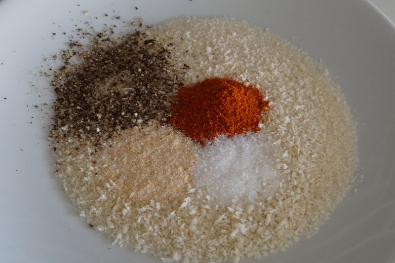 Spices and Bread Crumbs