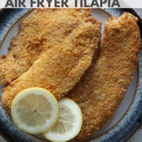 Air Fryer Tilapia