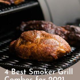 BBQ Smoker with Roast