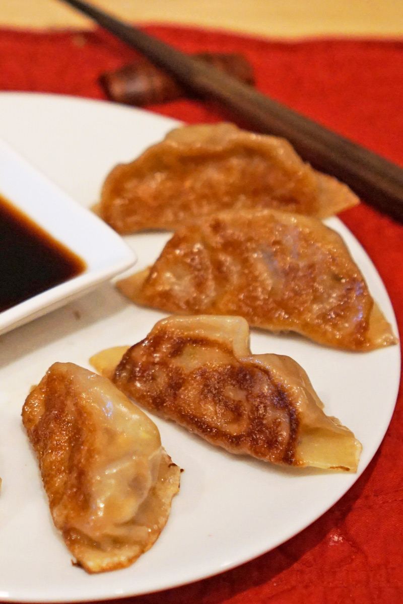 Gyoza with Dipping Sauce