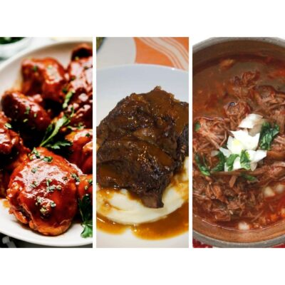 Chicken, Beef ribs and Birria