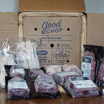 good chop box with meats